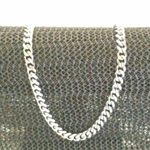 Men's Stainless Steel Cuban Link Necklace